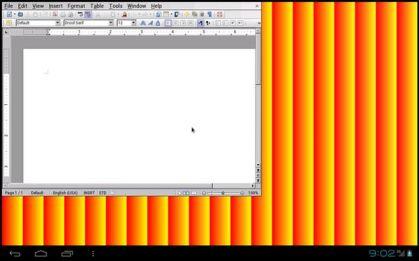 Prototipo de LibreOffice en Android