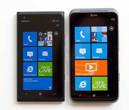 Lumia 900 vs Titan II