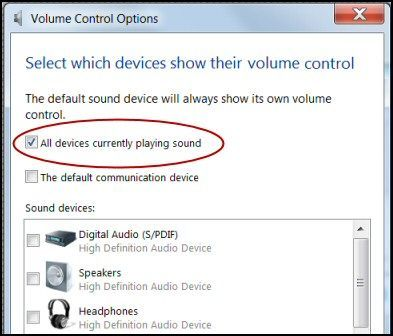 Solucionar problemas de sonido en Windows 8
