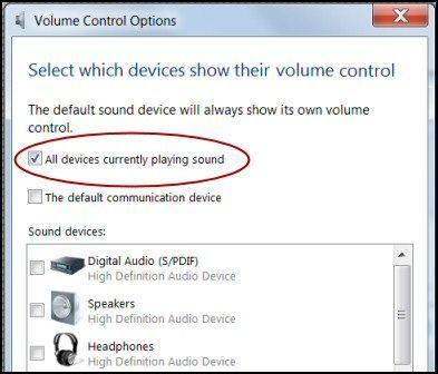 Solucionar problemas de sonido en Windows 8