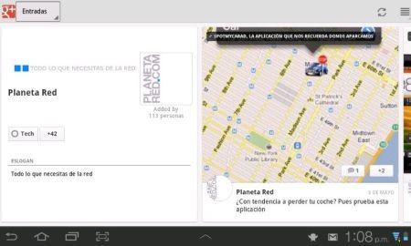 Google+ para Android se actualiza con version para tablets