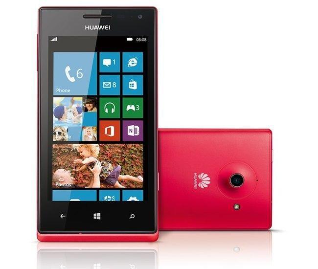 Huawei Ascend W1 Rojos