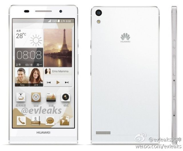 Huawei Ascend P6.