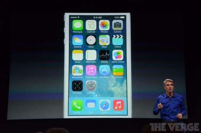 iOS 7, lo primero que se nos presentó en la Keynote