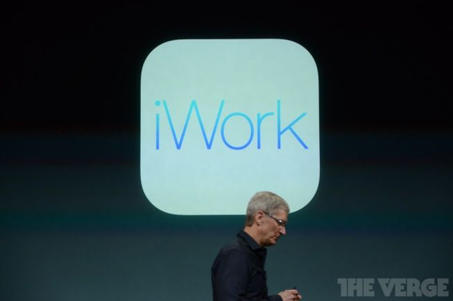 Tim Cook también nos presentaron iWork