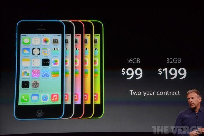 Precio del iPhone 5C