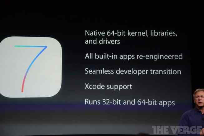 iOS 7 de 64 bits para el iPhone 5S