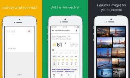 Actualización Google Search para iOS
