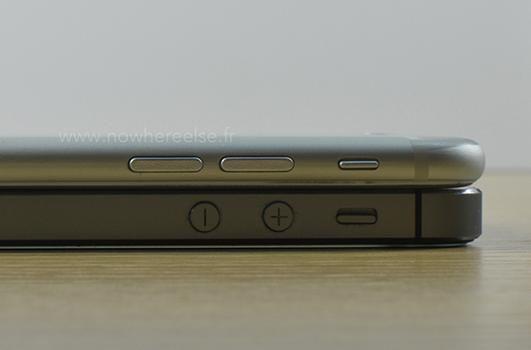 iPhone 6 vs iPhone 5S, comparamos su tamaño