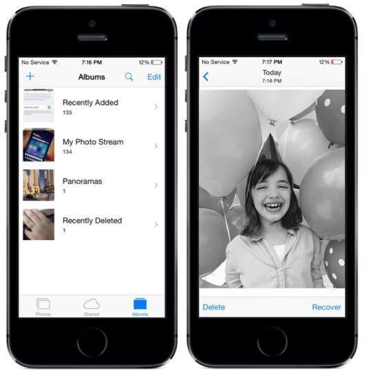 recuperar fotos iOS 8