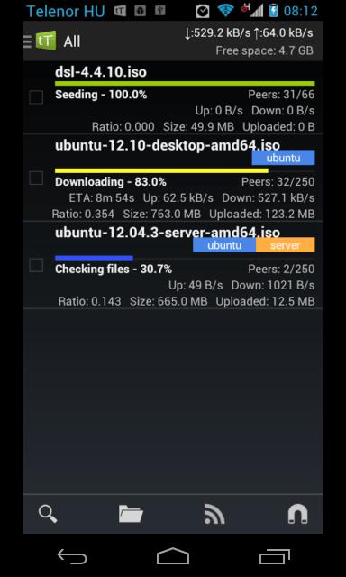 Mejores aplicaciones Torrent para Android