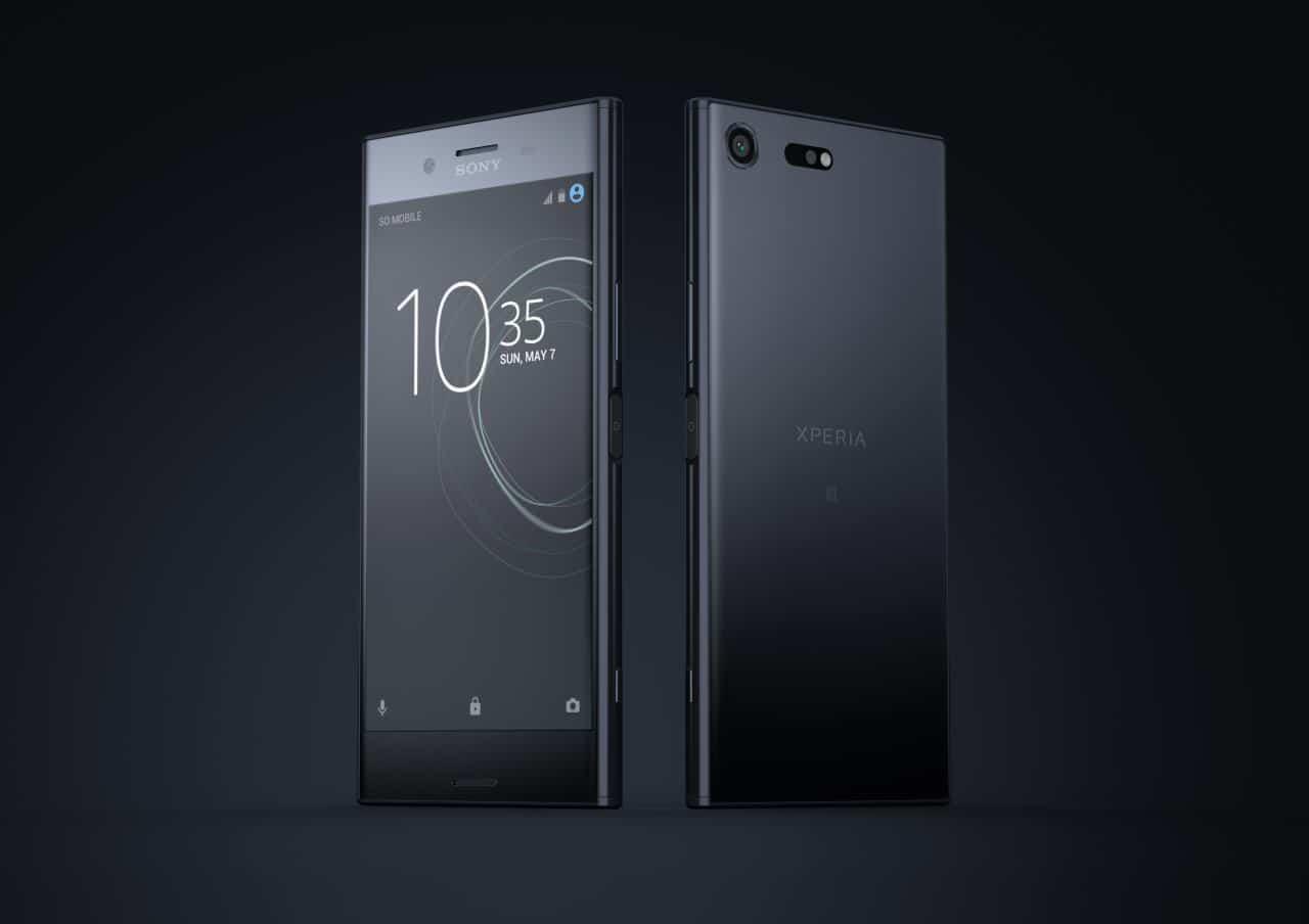 El nuevo smartphone premium de Sony con cámara lenta — Xperia XZs