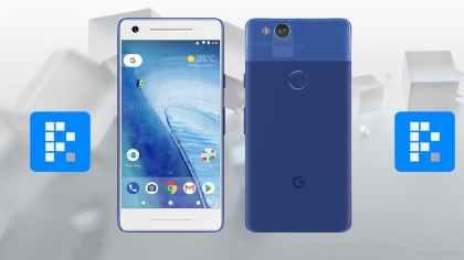 Google Pixel 2 color azul
