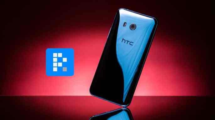 maqueta del HTC U11