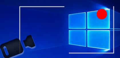 grabación de pantalla oculta en Windows 10