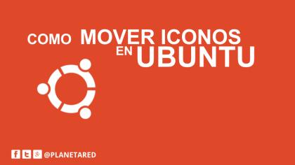 Mover iconos de la barra de Ubuntu