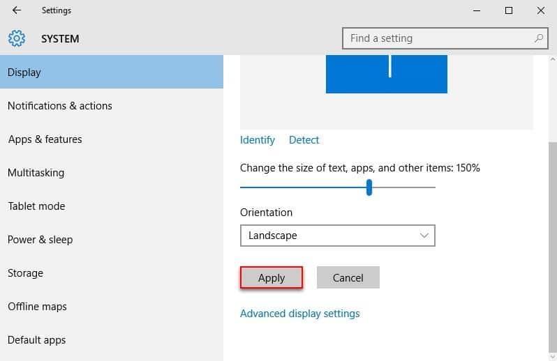 Como cambiar el tamaño de la fuente en Windows 10