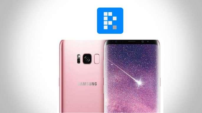 Rose Samsung Galaxy S8