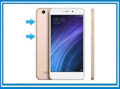 Resetear el Xiaomi Redmi 4a