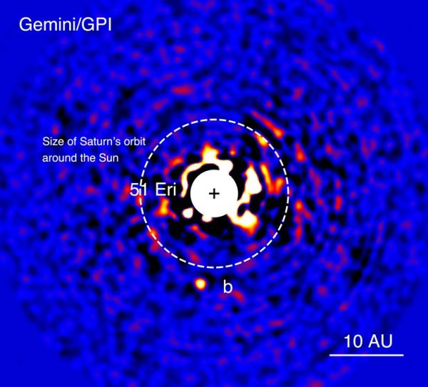Gemini Planet Imager finds its first exoplanet, a methane ...