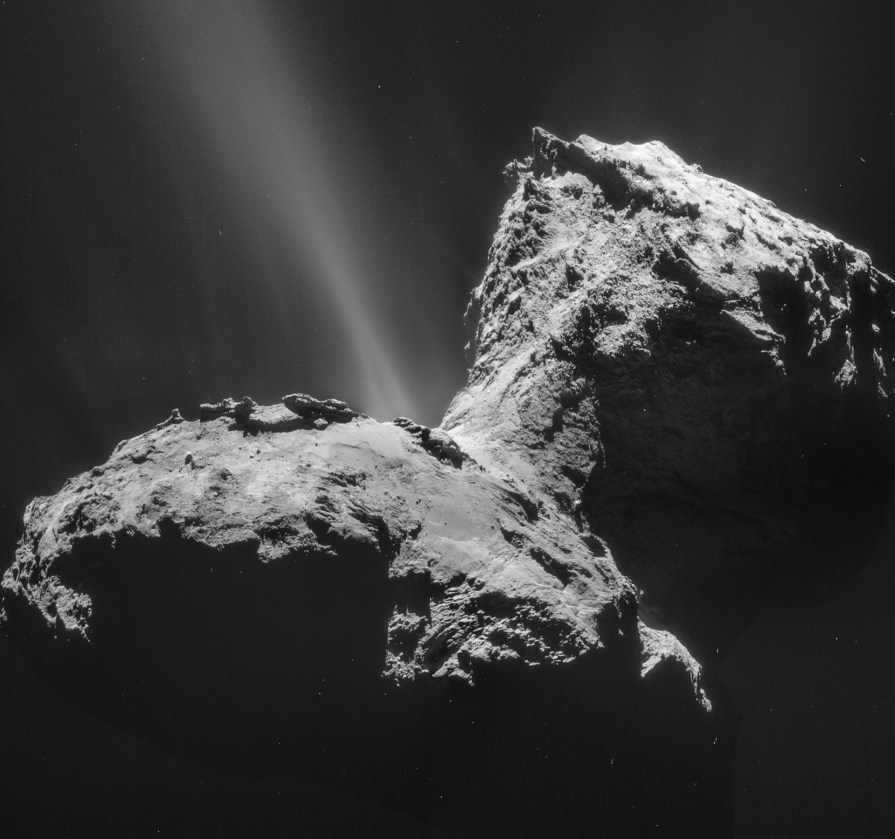 Comet_on_31_January_2015_NavCam