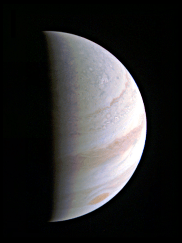 Jupiter Saturday 27th August 2016 JUNOCAM