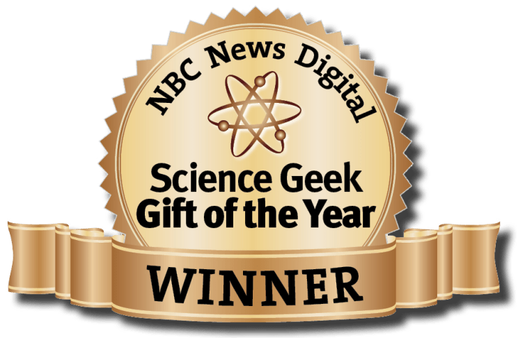 "The calendar has also been named the ""Science Geek Gift of the Year"" by NBC News Digital. Image Credit: TYIS"