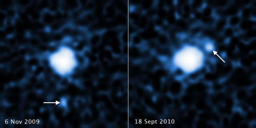 Hubble Spots a Moon Around the Dwarf Planet 2007 OR10