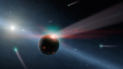 Kepler Space Telescope discovers first evidence for exocomets transiting their stars
