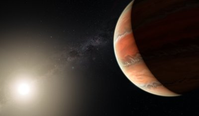 Under metallic skies: Titanium oxide discovered on exoplanet for first time