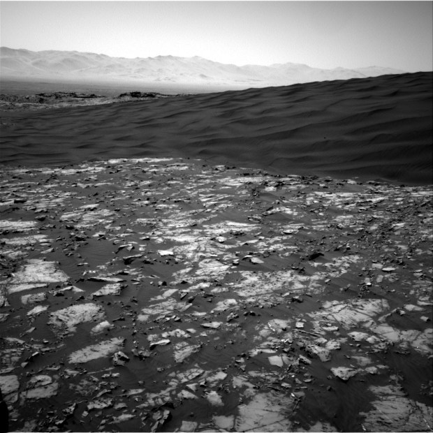 Another Navcam view of part of High Dune. Image Credit: NASA/JPL-Caltech