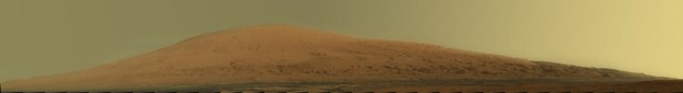 Natural colour version of the Mount Sharp panorama. See links below for full-size versions. Credit: NASA / JPL-Caltech / MSSS
