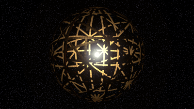 Artist's conception of a Dyson Sphere surrounding a star. Image Credit: Kevin Gill via Flickr CC By SA 2.0