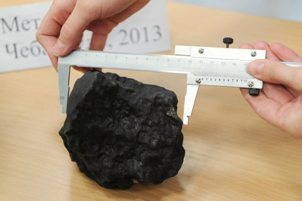 Scientists analyze structure of meteorite fallen in Chelyabinsk region