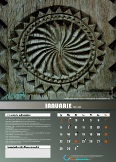 calendar ianuarie
