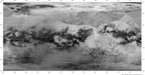 Map of Titan.