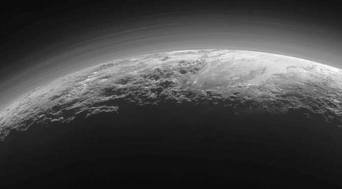 The chemistry of Pluto