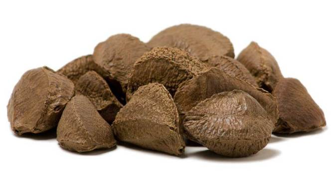 The Brazil Nut Effect on asteroids