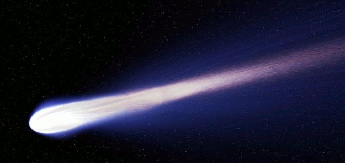 A comet.