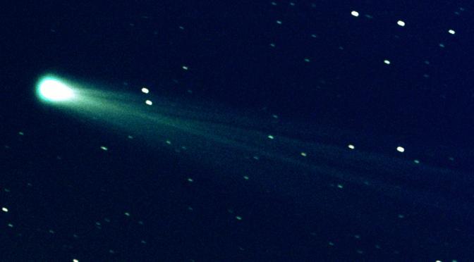 The comet ISON. © NASA