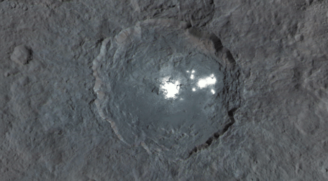 Big impact on Ceres