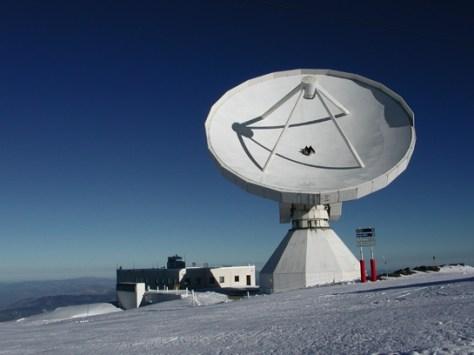 IRAM's 30m telescope at Pico Veleta © IRAM