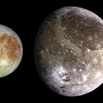 The Galilean satellites of Jupiter, seen by Galileo. © NASA/JPL