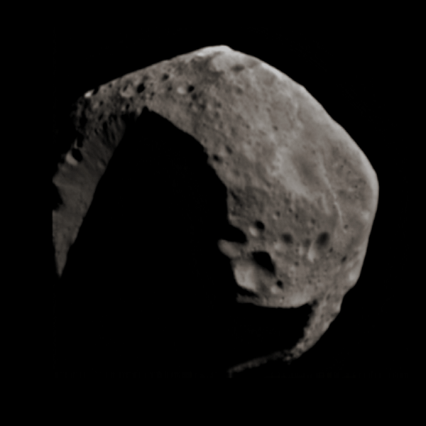 Asteroid 253 Mathilde in color The Planetary Society