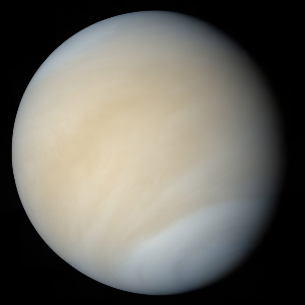 Global view of Venus from Mariner 10   The Planetary Society