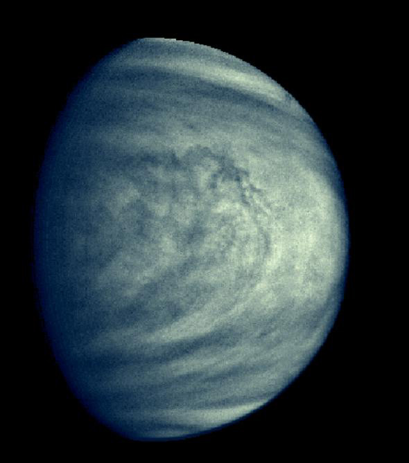 Venus looks more boring than you think it does   The ...