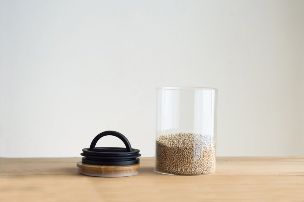 Photo of medium Airscape glass food storage kitchen canister