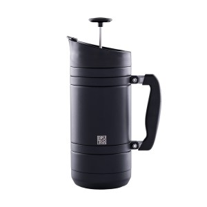 Photo of obsidian BruTrek insulated French press