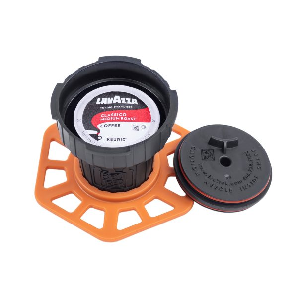 Photo of Trestle K-cup adapter with coffee pod