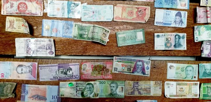 photo of foreign currency